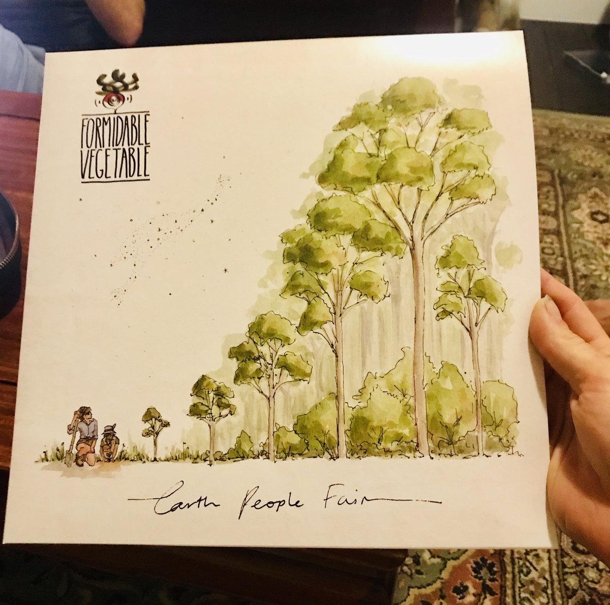 Earth People Fair - Formidable Vegetable